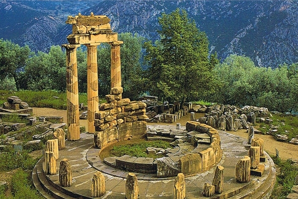 Euphoria in the Light of Gods - Delphi Greece